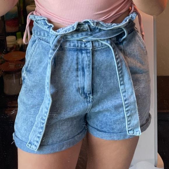 W&F Denim Blue Jean Shorts Size M